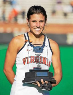 Caleigh Foust (HHS '13) ends UVA field hockey career on top