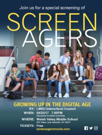 ISC presents: Screenagers: Growing Up in the Digital Age