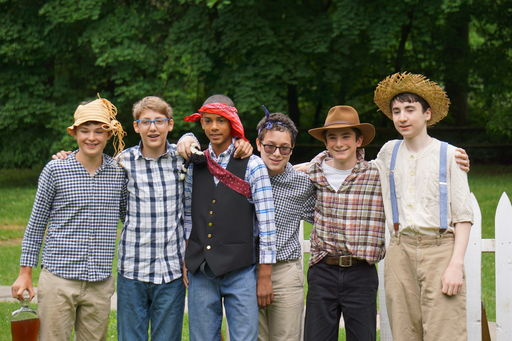 "Welsh Valley's ""Waterbound"" gets into character during Tom Sawyer Day"
