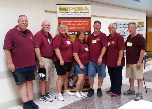 LMSD Drivers Shine at State & International School Bus Safety Competitions