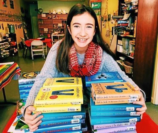 Welsh Valley entrepreneur Anna Welsh donates $1,000 to Tree House Books
