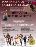 Registration now open for Lower Merion Basketball Summer Camp!