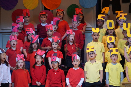 "Penn Wynne First Graders Perform ""A-Z Does It"""