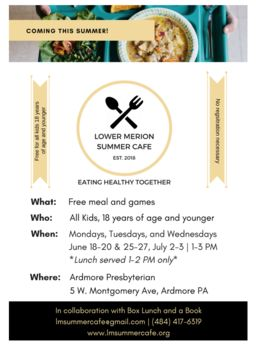 Lower Merion Summer Cafe