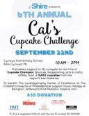 6th Annual Cal's Cupcake Challenge