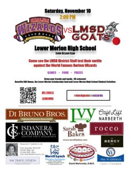 LMSD Goats vs. Harlem Wizards Basketball Fundraiser