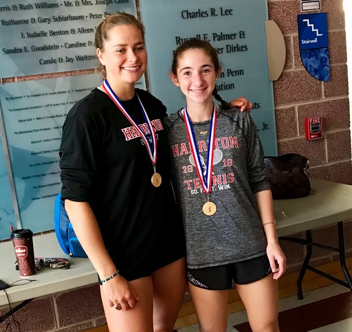 Harriton's Sassoli & Roshkoff capture District 1 Doubles Crown