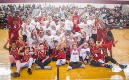 LMSD Goats & Harlem Wizards hit the hardwood for a good cause