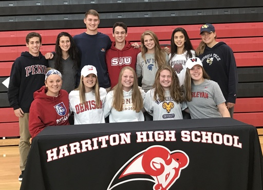 Harriton student-athletes sign National Letters of Intent