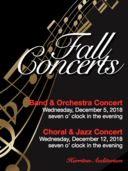 Harriton Music Department Fall Concerts
