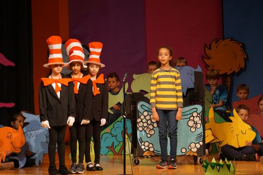 "Gladwyne 3rd Graders take center stage in ""Seussical the Musical"""