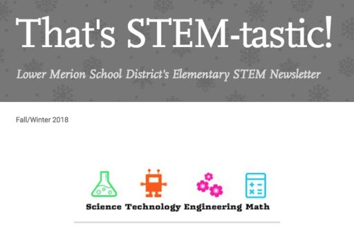 "Fall/Winter Elementary STEM Newsletter: ""That's STEM-tastic!"""