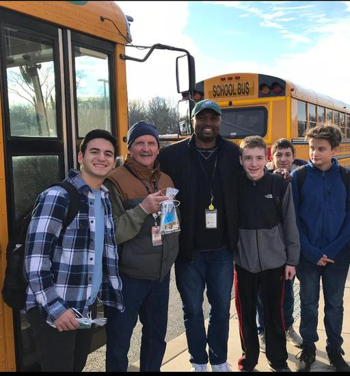 Harriton students create treats for bus drivers