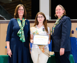 LMHS Student and Alumna Honored by Girl Scouts