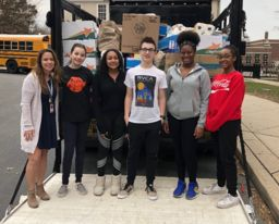 BCMS Student Council organizes food drive for families-in-need
