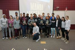 "Hall of Fame NBA photographer Andrew Bernstein discusses ""Mamba Mentality"" at LMHS"