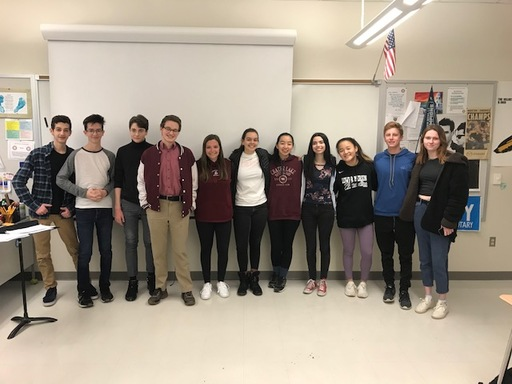 Lower Merion Debate delivers strong performance at Districts
