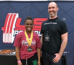 Lower Merion's Jourdyn Rumph captures crown at USA Powerlifting State Championships
