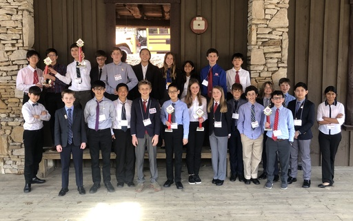 BCMS Excels at Technology Student Association (TSA) State Conference