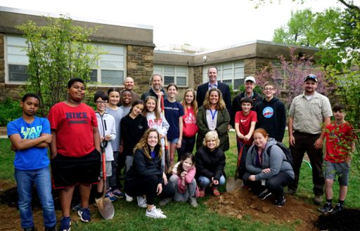 Penn Valley continues legacy of environmental stewardship with trio of tree plantings