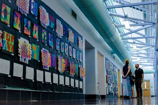 """A Celebration of Art"" at Welsh Valley Middle School"