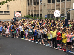 Penn Wynne Elementary holds pep rally for ALSF