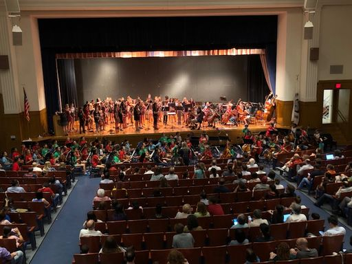 Bala Cynwd Middle School Hosts String Move Up Night