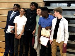 Bala Cynwyd Middle School Recognizes 8th Graders