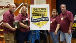 LMSD Transportation shines at State School Bus Safety Competition