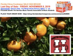 Harriton Music Program Florida Citrus Sale Fundraiser