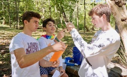 LMHS students explore watersheds with Lower Merion Conservancy