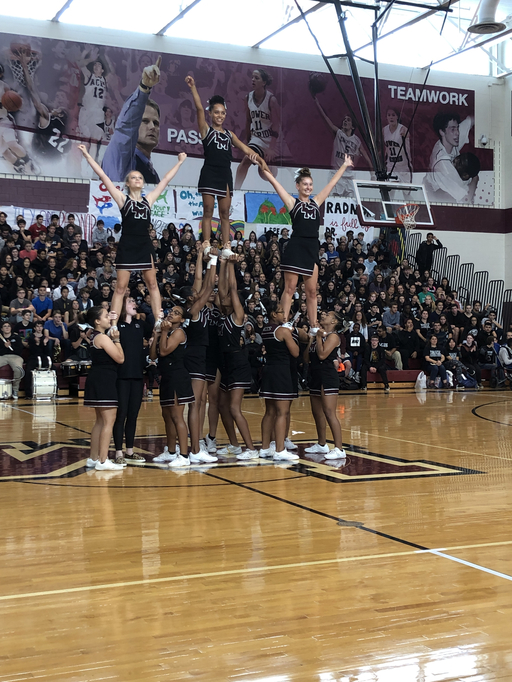 Lower Merion High School Holds Pep Rally