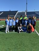 BCMS Soccer Players Volunteer at Special Olympics