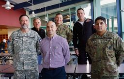 Military Veterans visit Welsh Valley Middle School