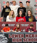 LMSD Student-Athletes sign National Letters of Intent