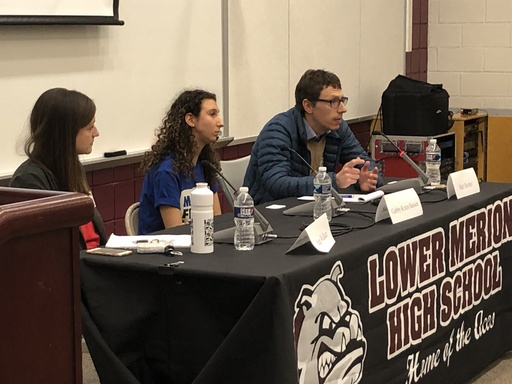 Lower Merion High School Students Learn about Activism