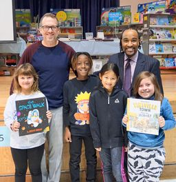Author & Illustrator Brian Biggs visits Penn Wynne