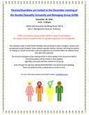 Gender/Sexuality Inclusivity & Belonging Group (GSIB) December Meeting