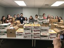 Harriton NHS students collect food for those in need