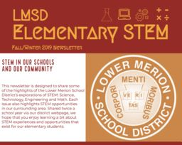 Fall/Winter Elementary STEM Newsletter