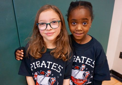Ahoy! Cynwyd Pirates shine in the First Grade Song Celebration