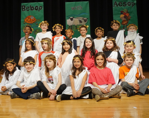 "Gladwyne students charm the crowd with ""Bebop with Aesop"""