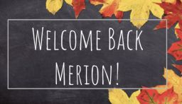 """Welcome Back"" Video from Merion Elementary School"