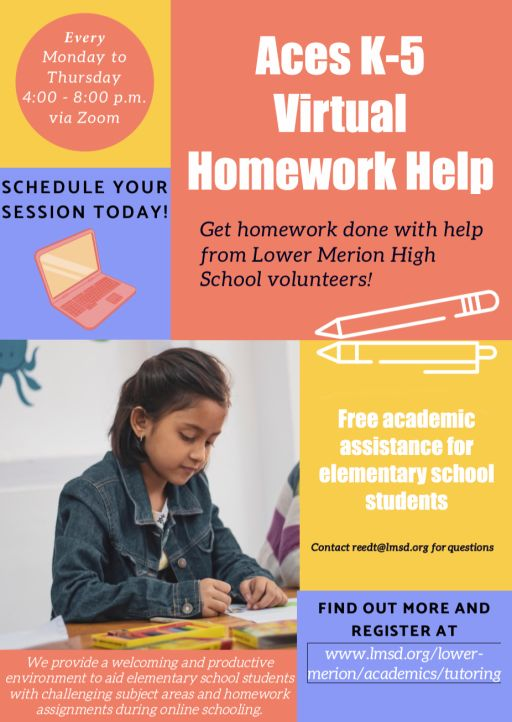 Aces K-5 Virtual Homework Help Program