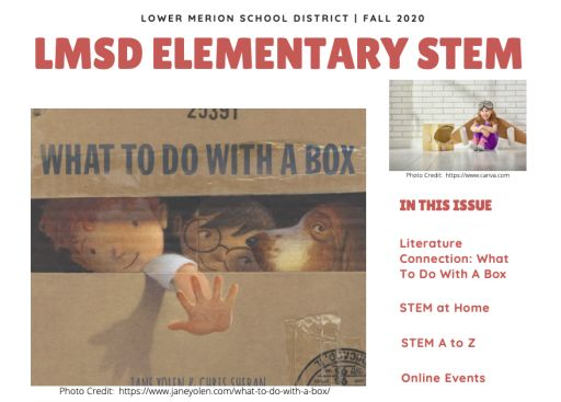 LMSD Fall 2020 Elementary STEM Newsletter