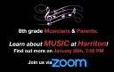 Harriton Music Department Virtual Open House