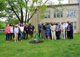 Interschool Council Commemorates Recent Challenges & Successes with Tree Dedication