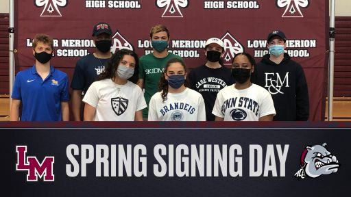 LMHS Student-Athletes Sign National Letters of Intent