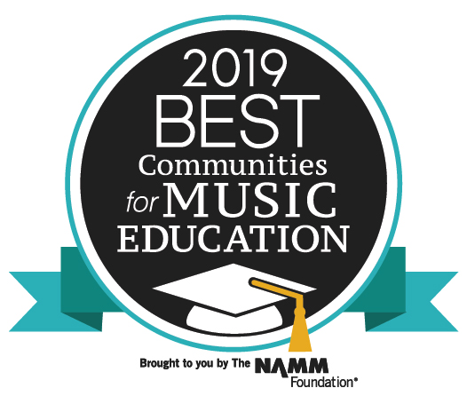 2019 Best Communities for Music Education Seal