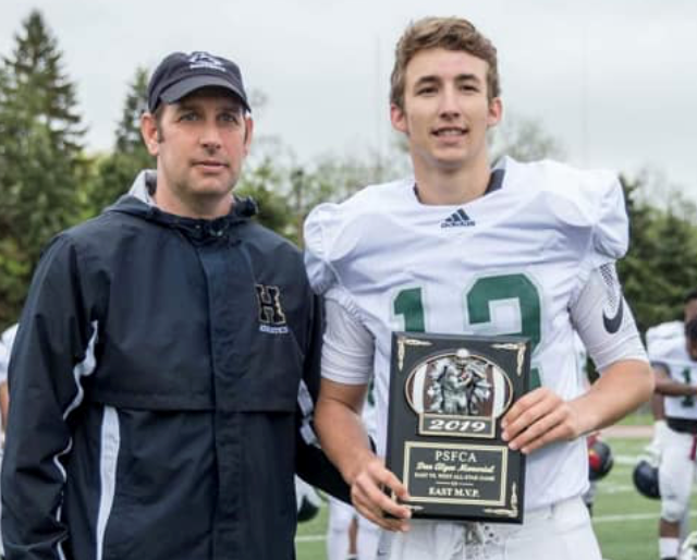 O'Connor accepts his MVP honors